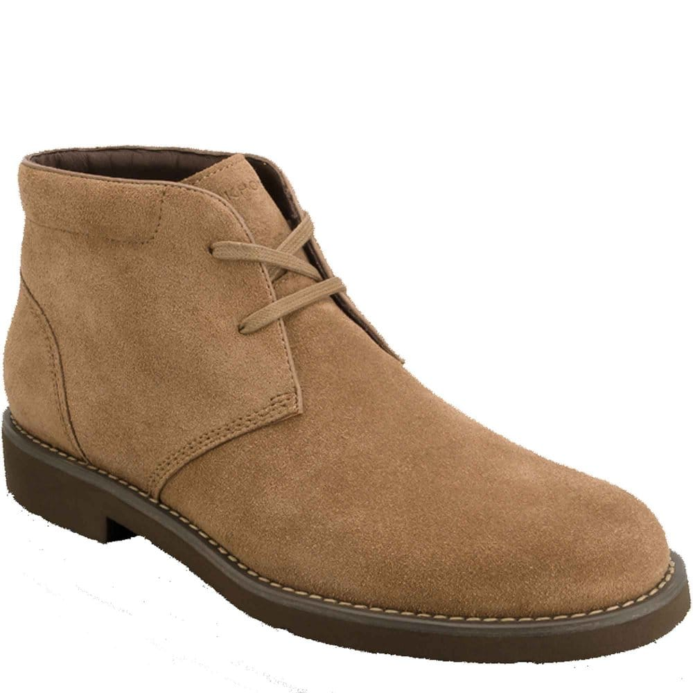 rockport rockport ridge valley vicuna suede mens boots