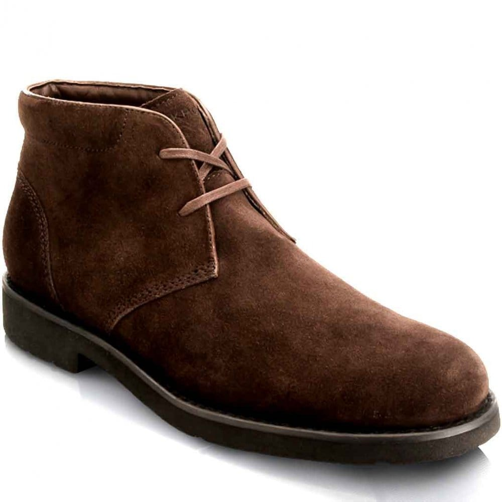 Rockport Rockport Ridge Valley Chocolate Suede Mens Boots Rockport From Charles Clinkard Uk