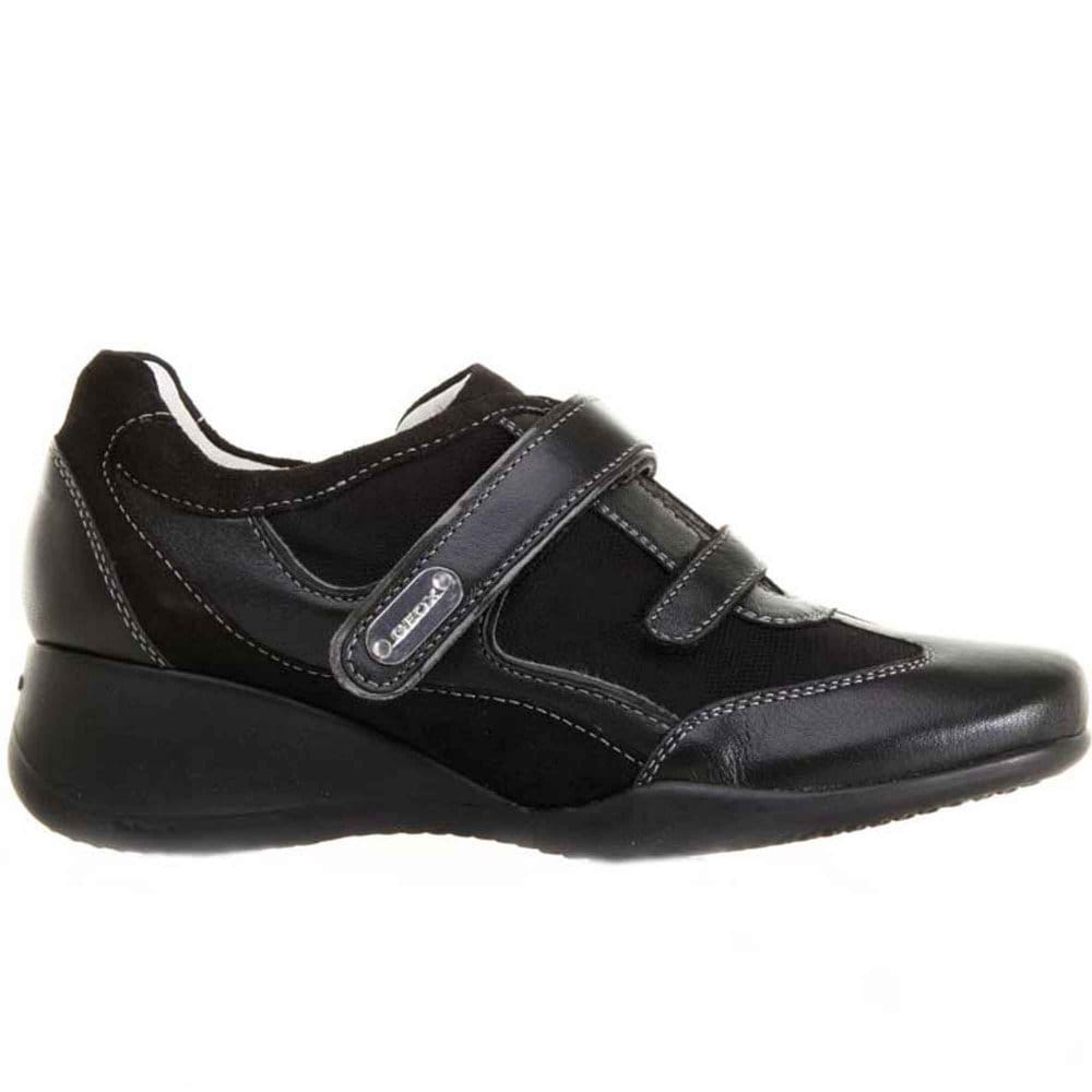 3a2164464 Geox Donna Hit Womens Velcro Wedge Shoes
