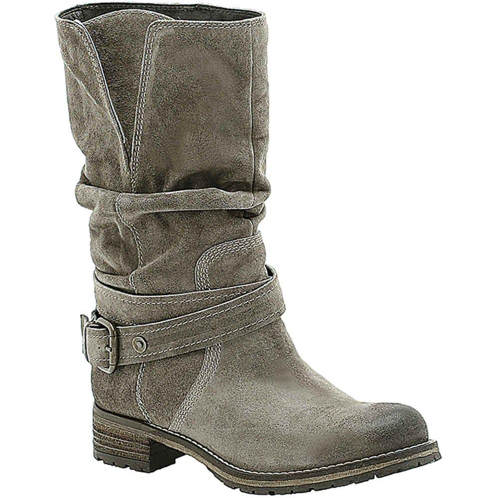 clarks majorca villa boots grey suede biker charles