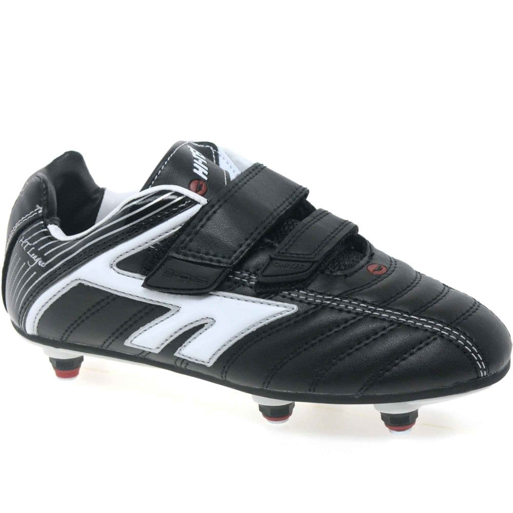 Hi-Tec Boys Velcro Fastening Studded Rugby Boots