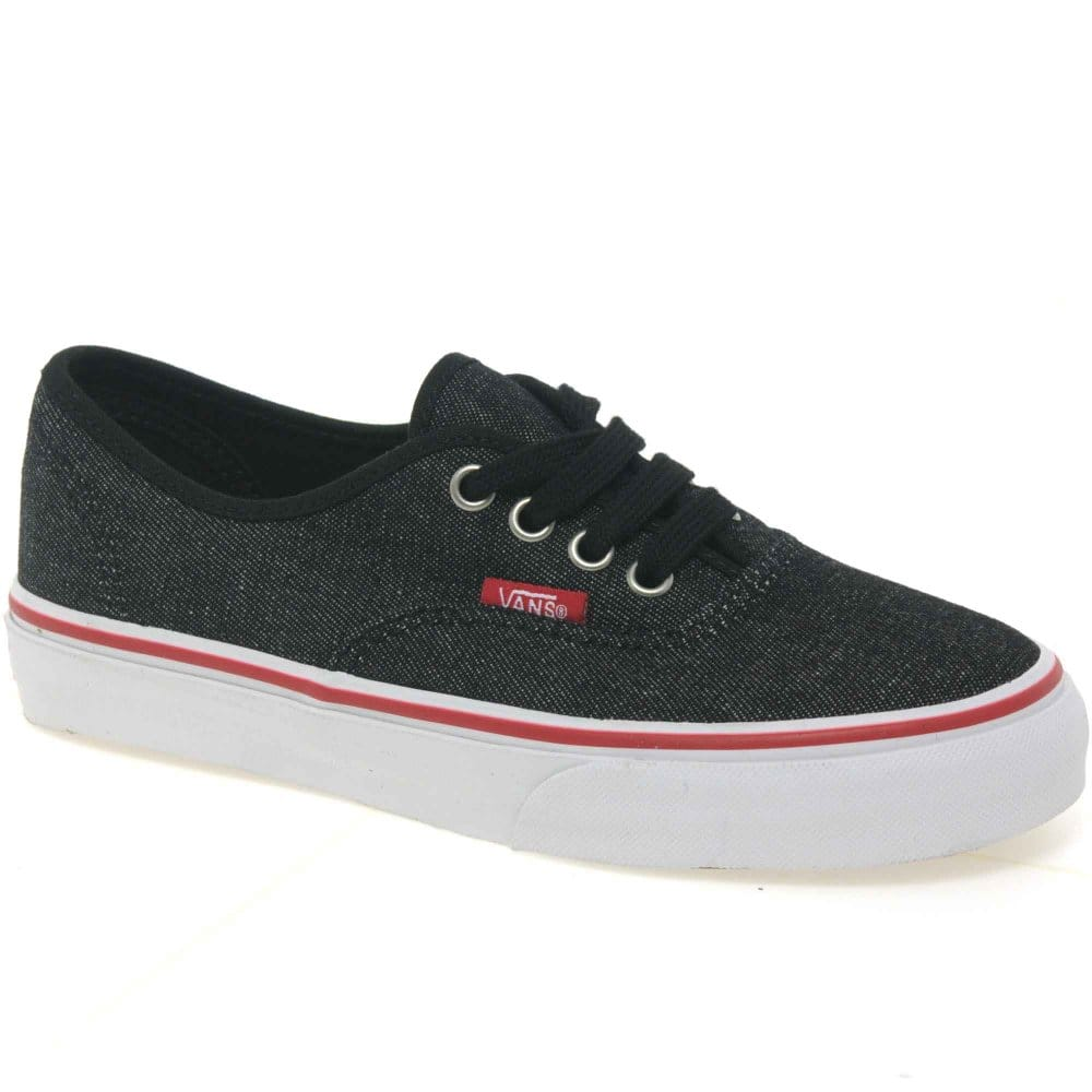 Vans Atwood Junior Boys Lace Up Canvas Shoes - Vans from Charles