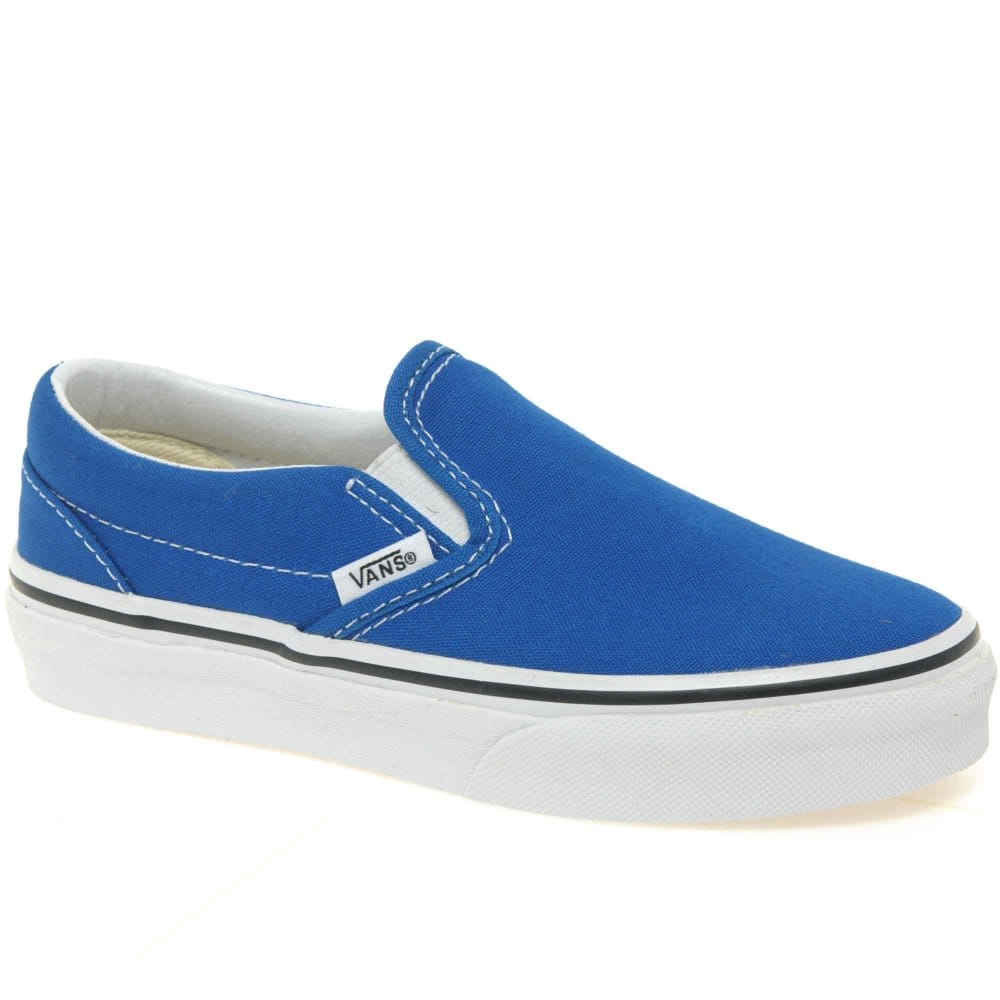 Home : Boys : Canvas : Vans : Vans Classic Slip On Junior Boys