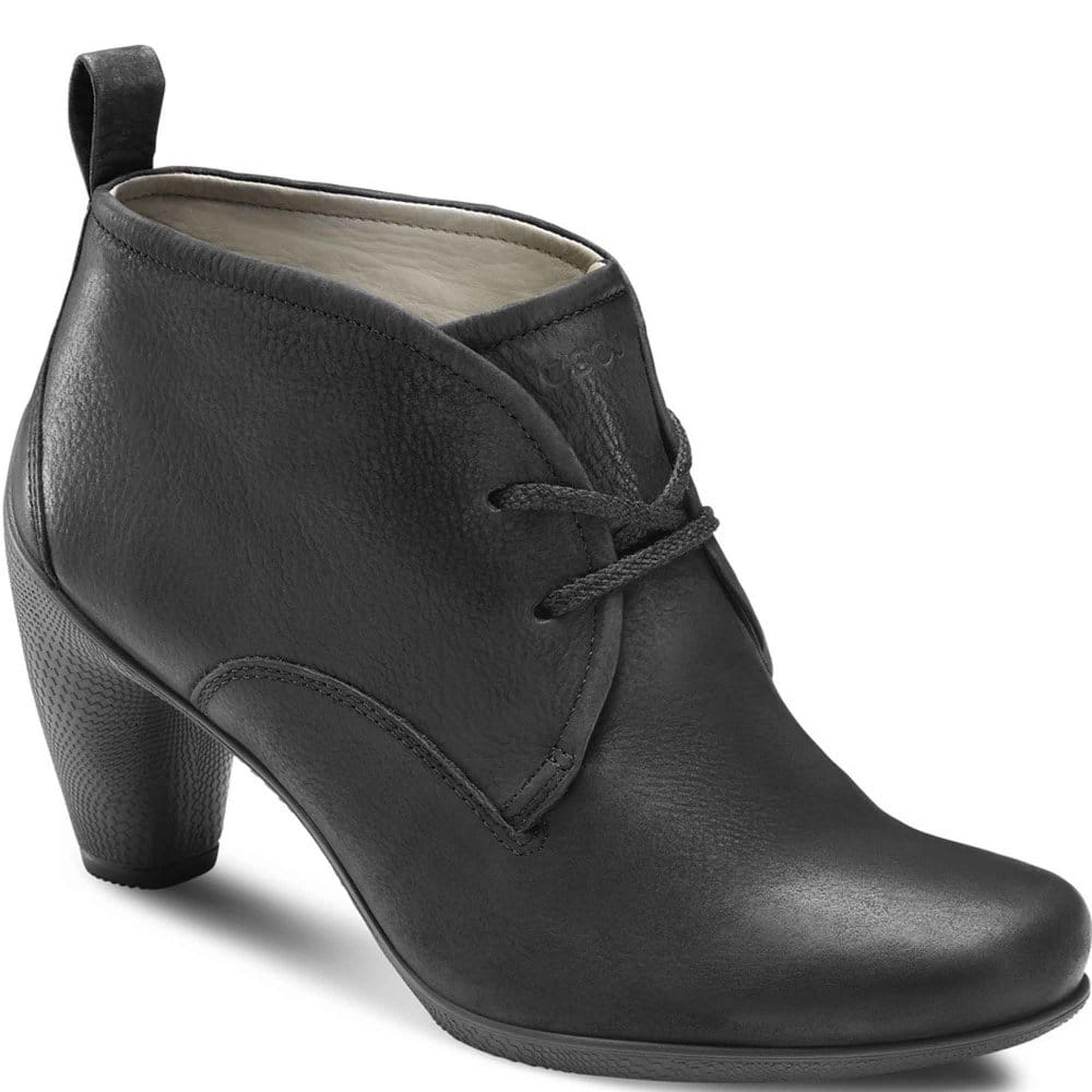 ecco charm womens lace up ankle boots ecco from charles