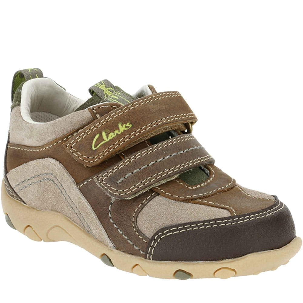 clarks beetlefun boys velcro fastening shoes clarks from