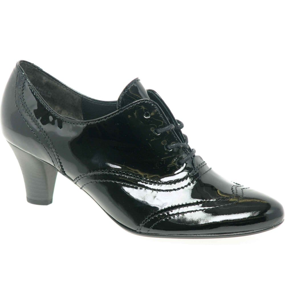 gabor womens lace up high cut court shoes gabor