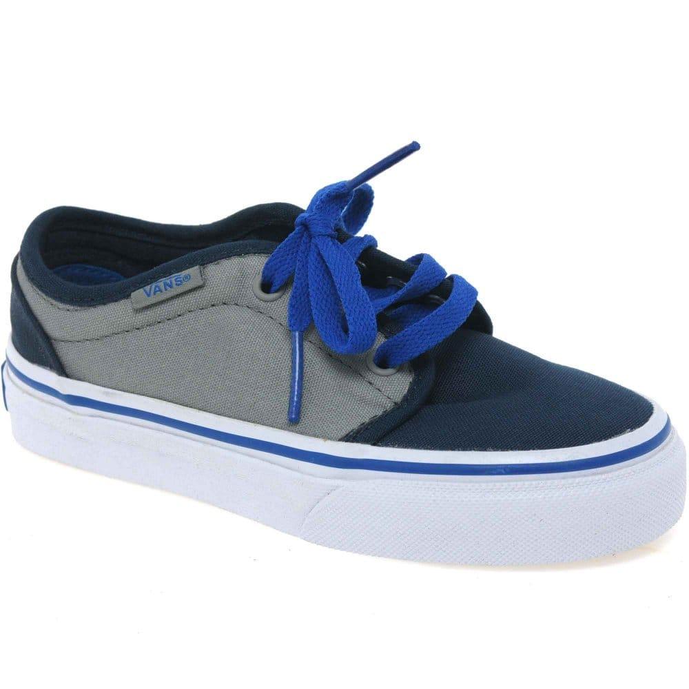 vans vulcaniz boys lace up canvas shoes vans from