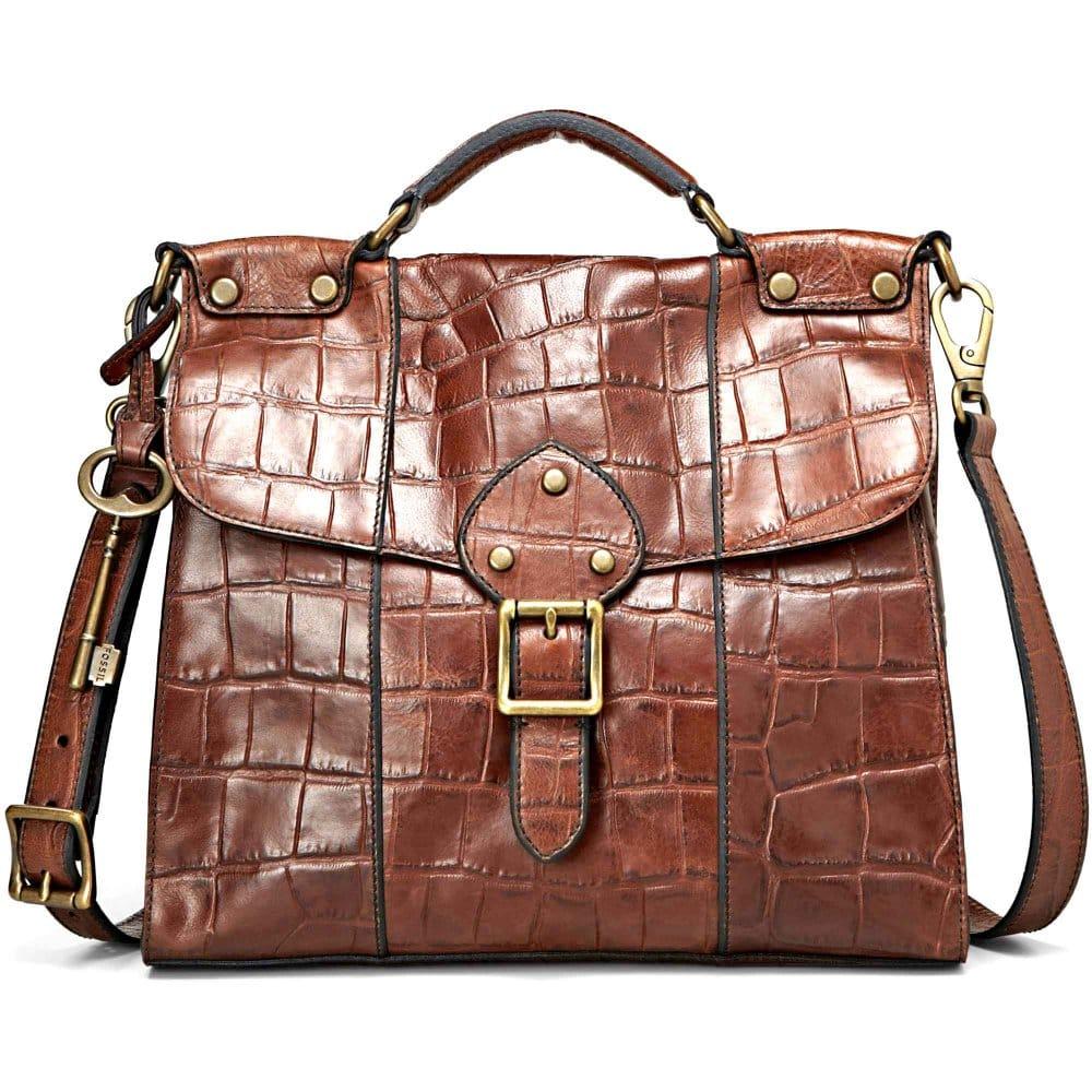 Fantastic FOSSIL Maddox Organizer Flap  Women Bag