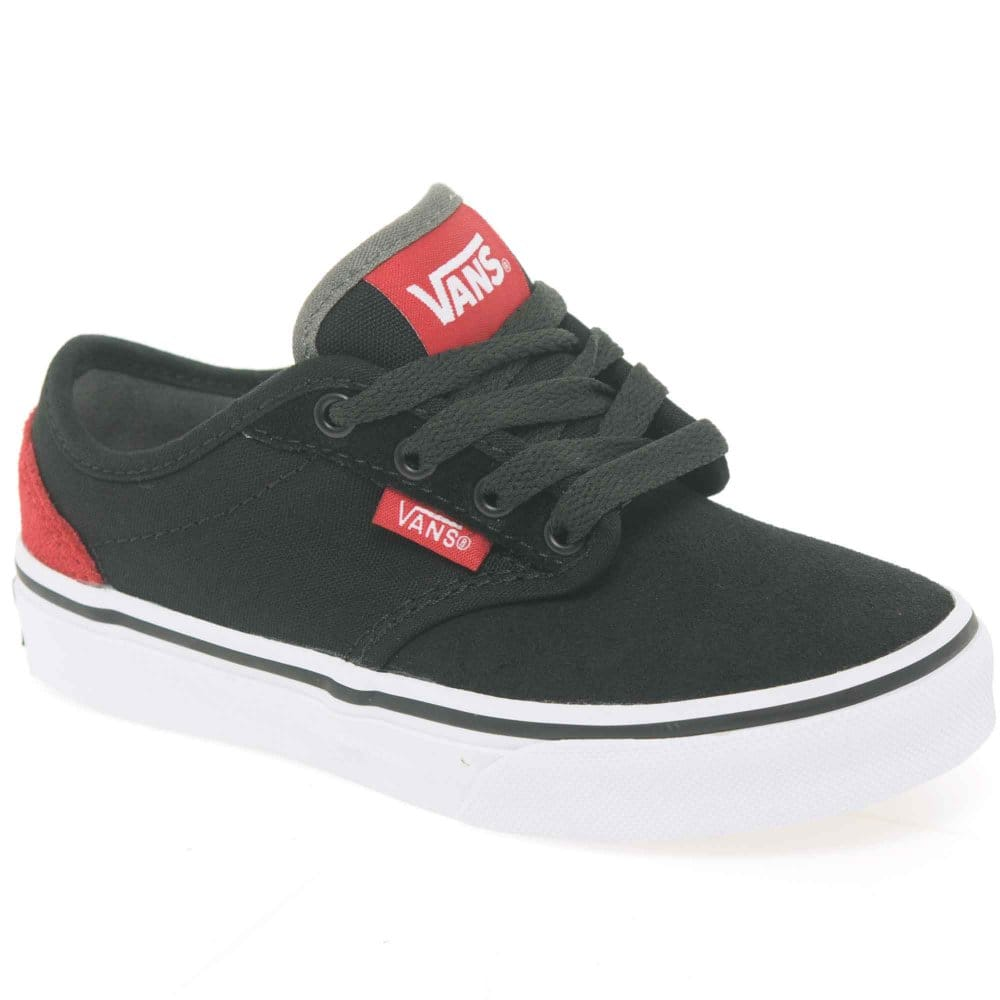 vans atwood junior boys lace up canvas shoes vans from