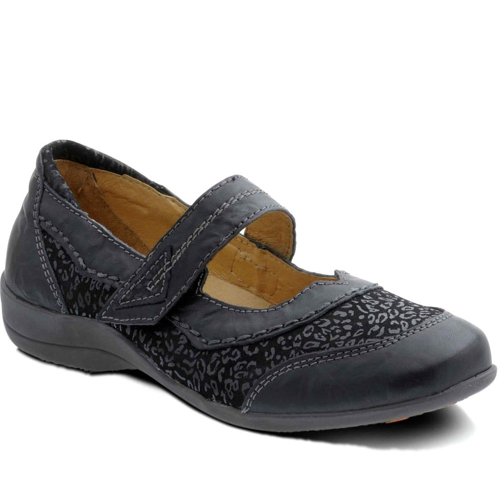 padders bramble womens velcro fastening casual shoes