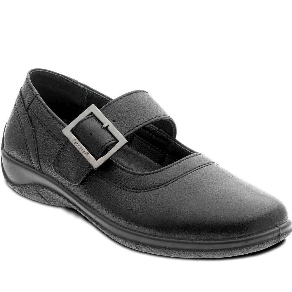 padders whirl shoes leather buckle charles clinkard