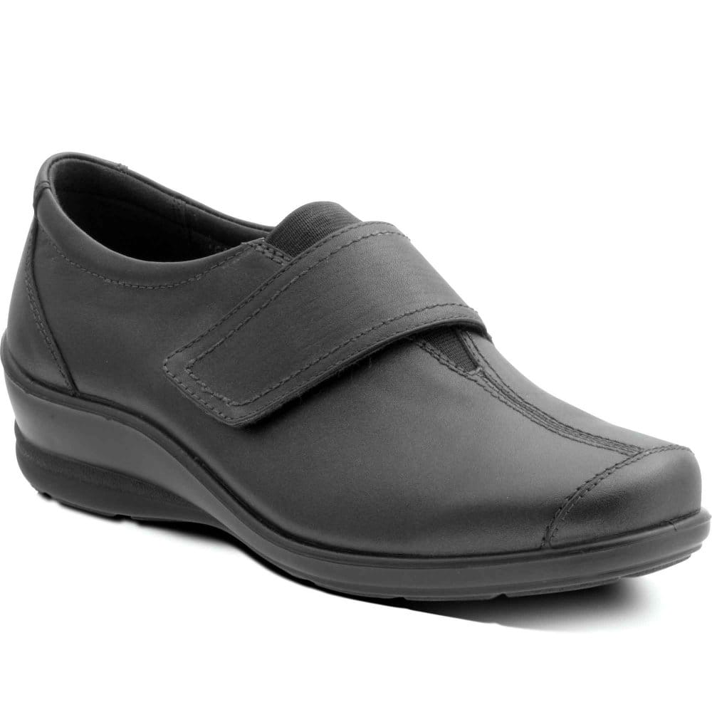 padders womens velcro fastening casual shoes