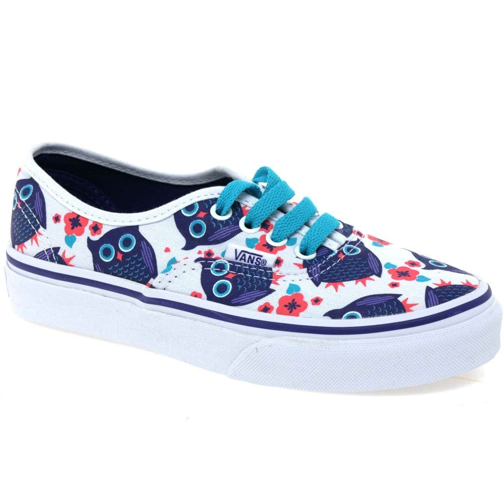 vans blue for girls