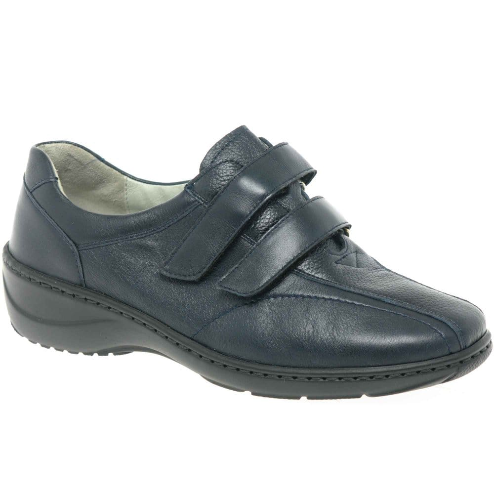waldlaufer duo womens velcro fastening casual shoes
