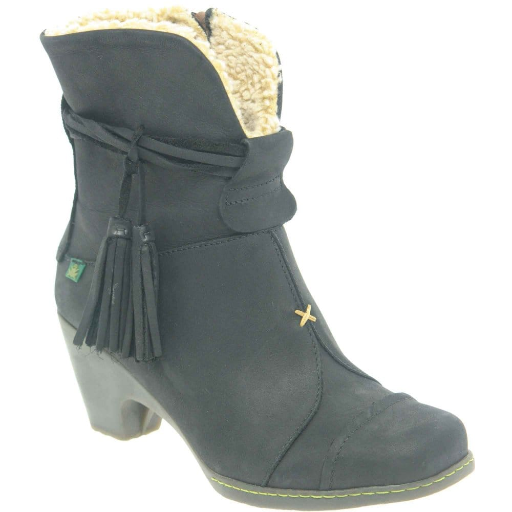 el naturalista tassle womens lined ankle boots el