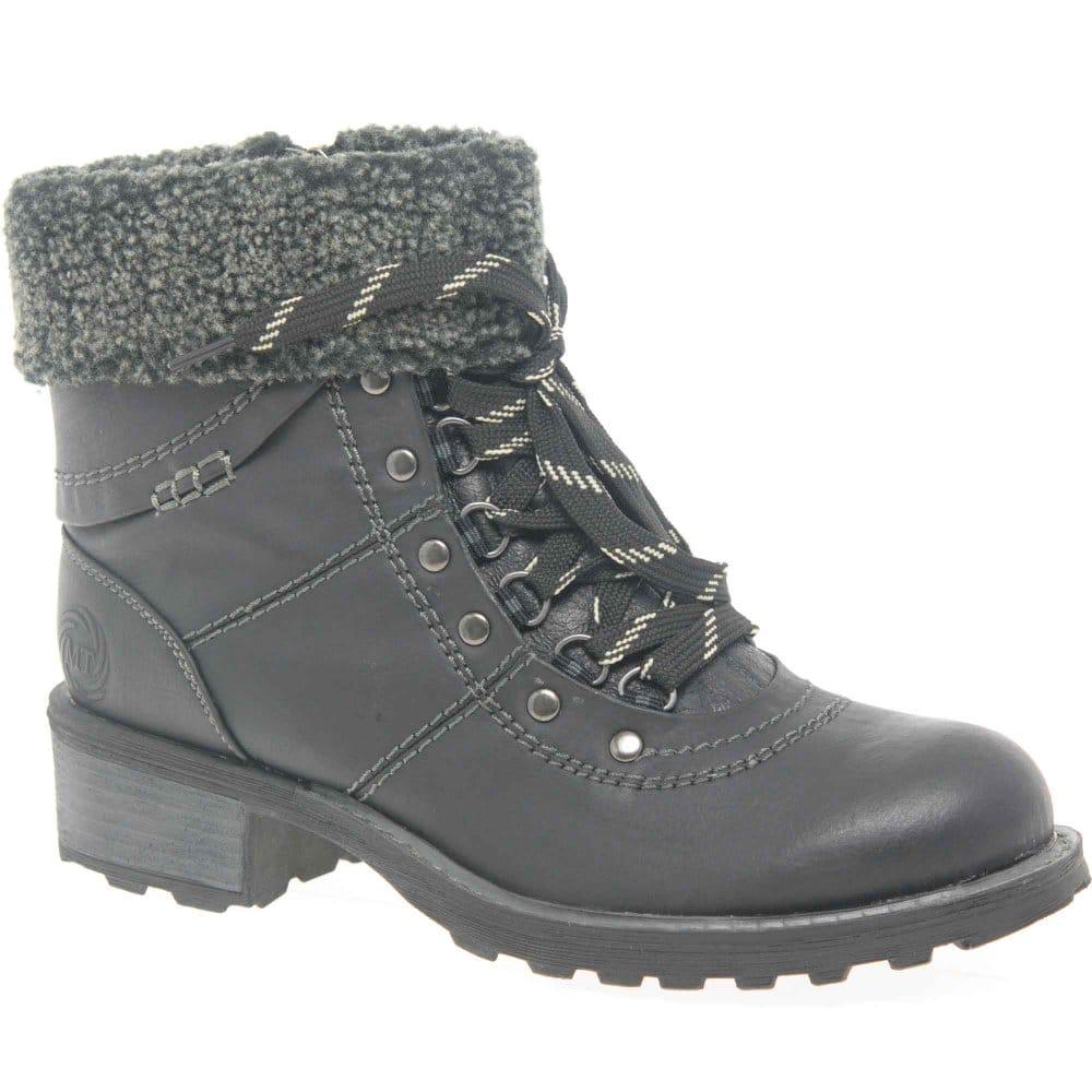 Beautiful NorthWest Peak Womens WaterProof Leather Lace Up Hiking Boots | EBay