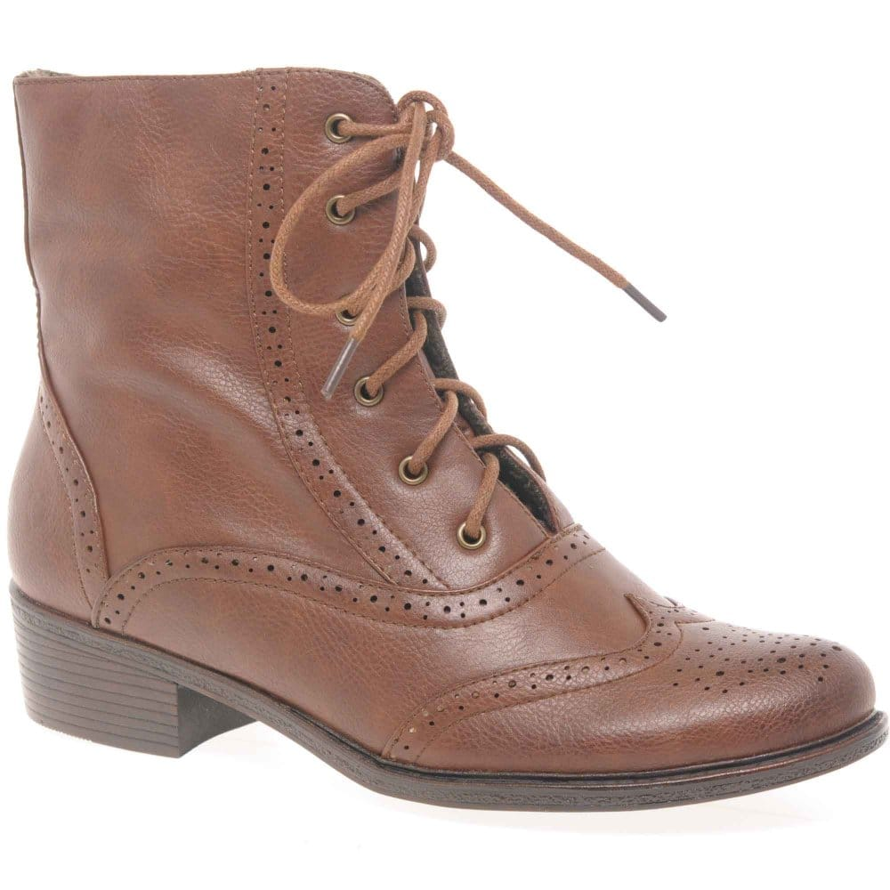 Lastest Rieker Valentina Womens Lace Up Ankle Boots  Rieker From Charles