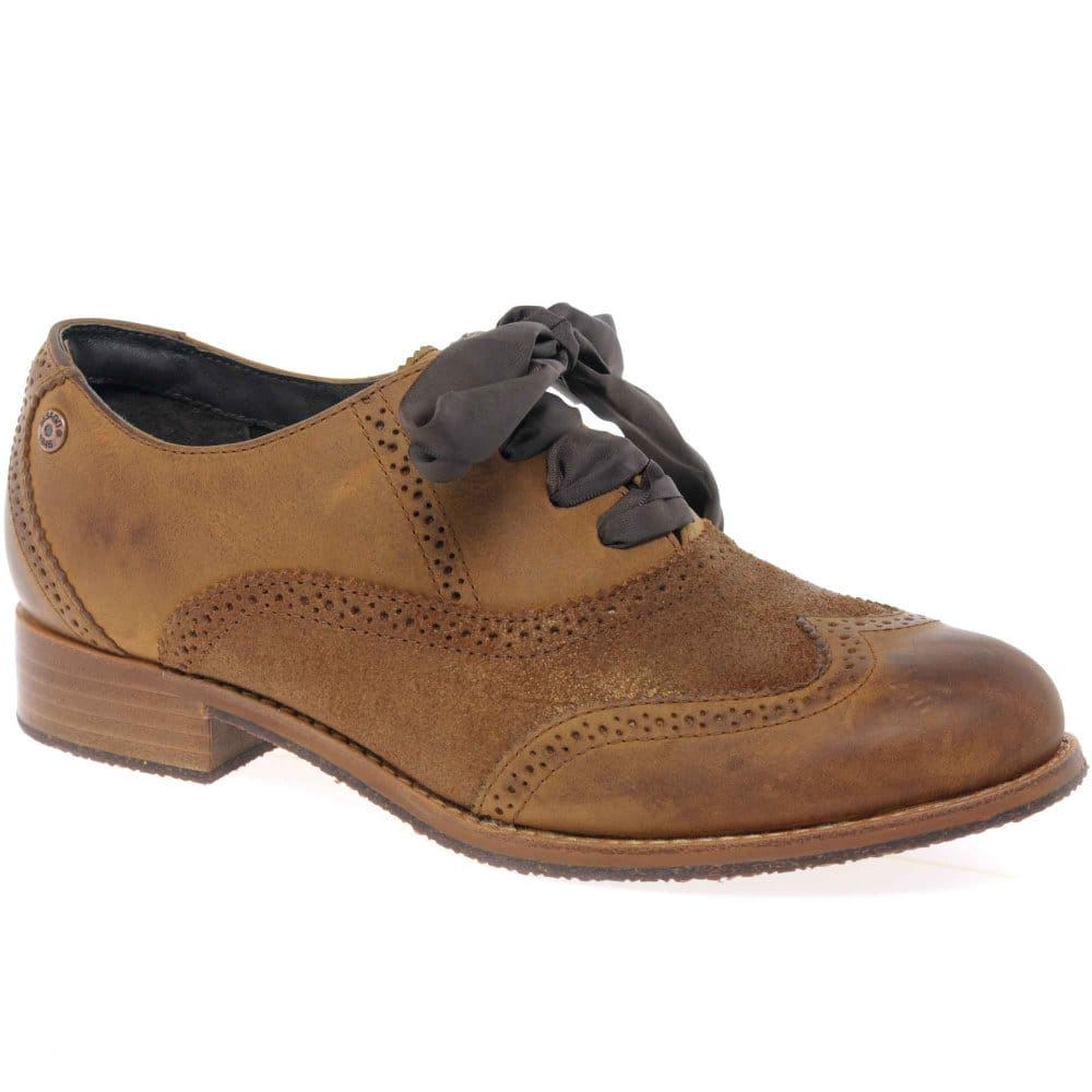 sebago claremont brogue womens lace up shoes sebago from