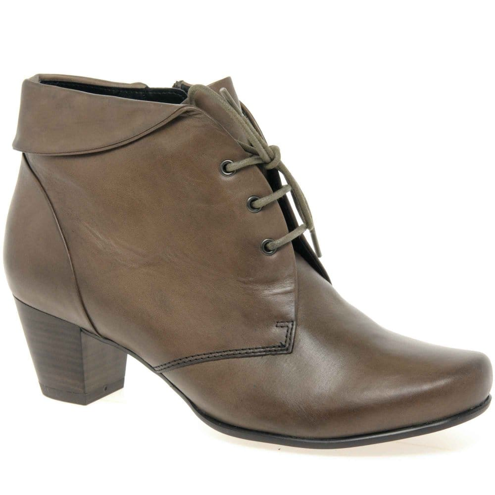 Model BONNIBEL RIO3 Women39s Lace Up Ankle Boot On Traction Outsole With PU