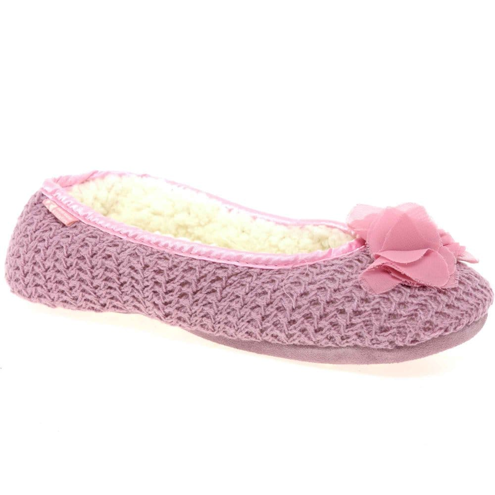 bedroom athletics kacie womens warm lined slippers bedroom athletics