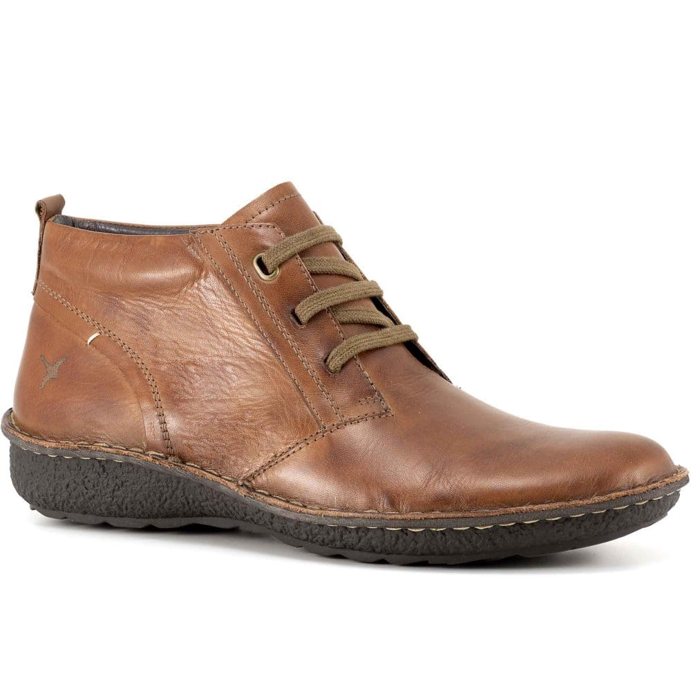 pikolinos chile mens leather lace up ankle boots