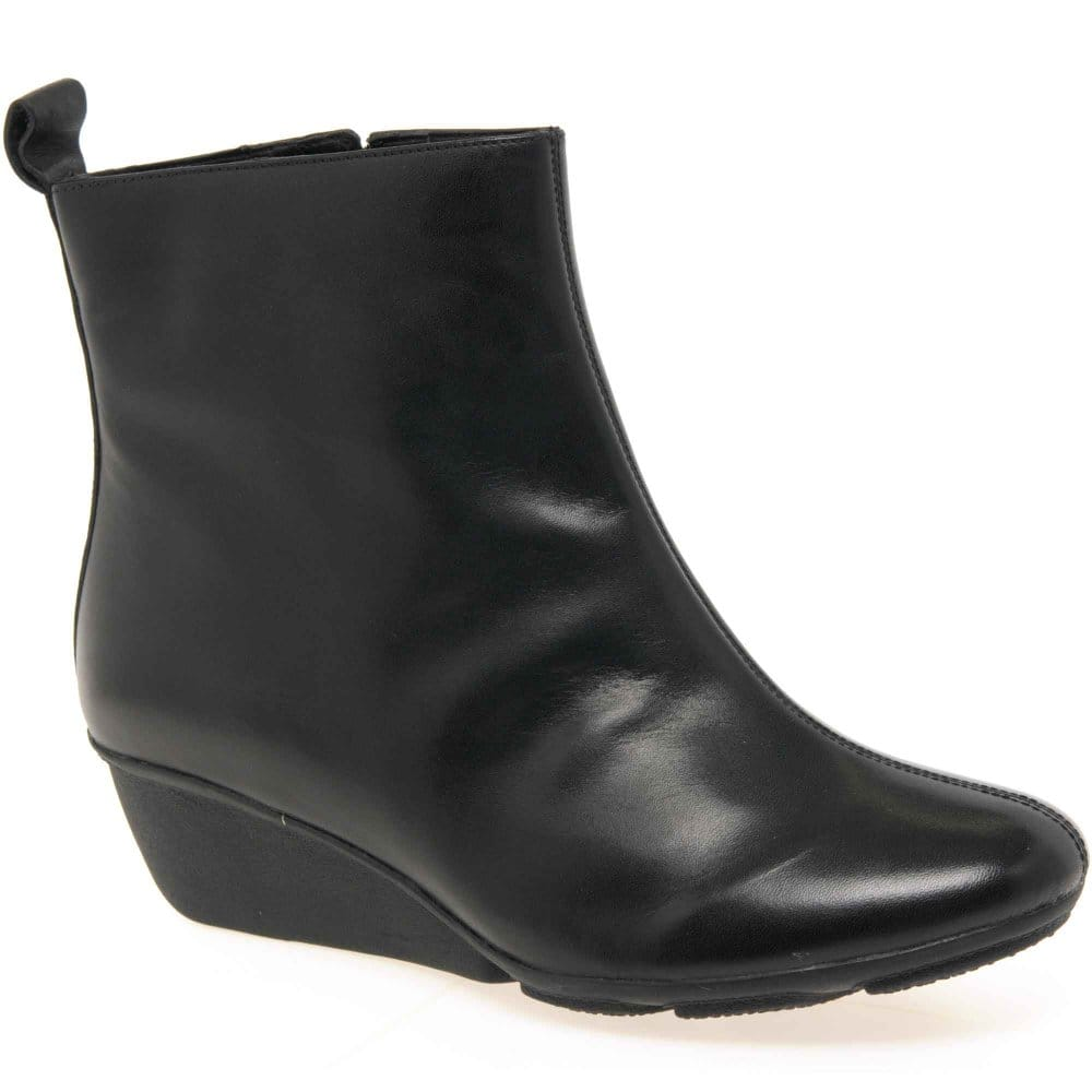clarks marylou womens wedge heeled ankle boots