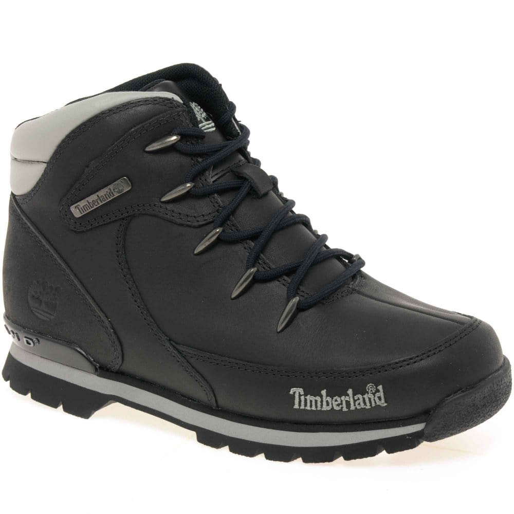 timberland rock junior boys lace up boots