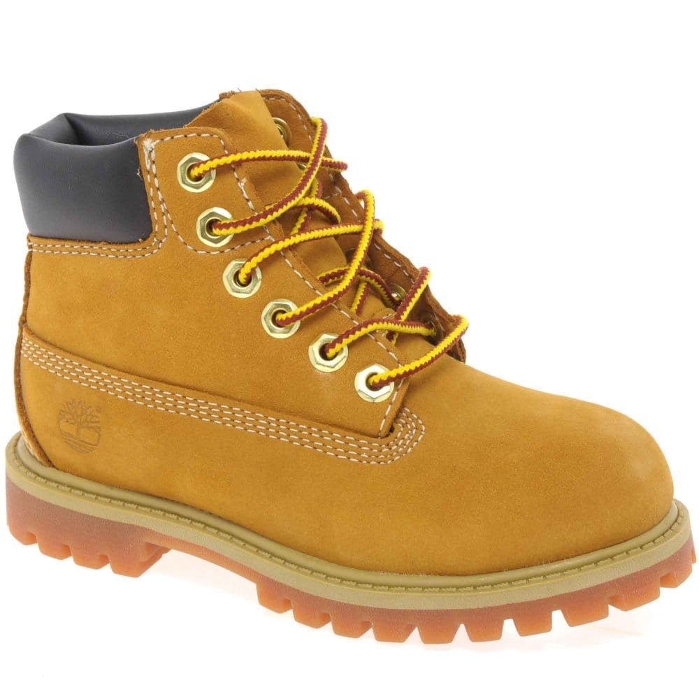timberland classic toddler boys lace up boots charles