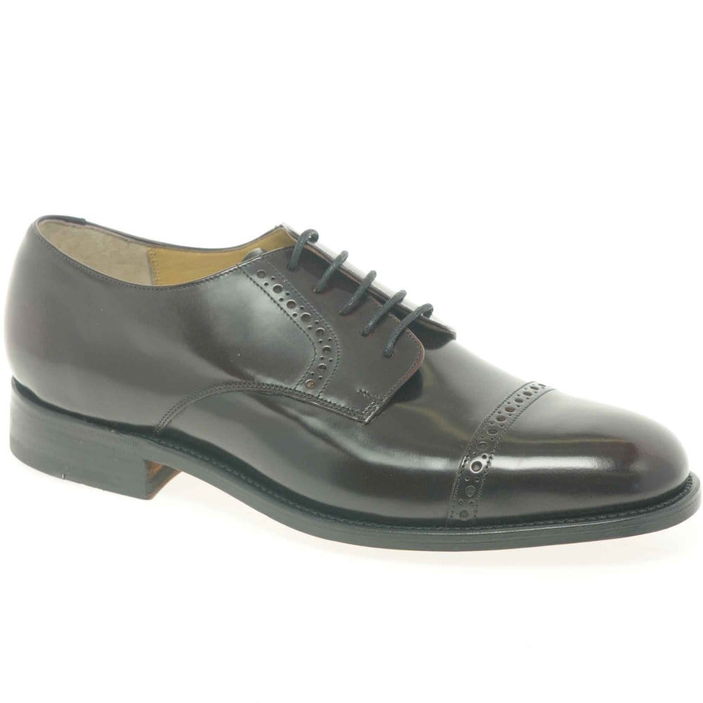 barker liverpool formal shoes burgundy leather charles