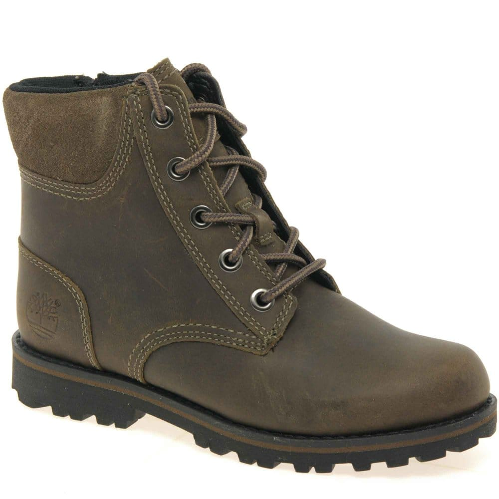 timberland asphalt youth boys lace up boots charles clinkard