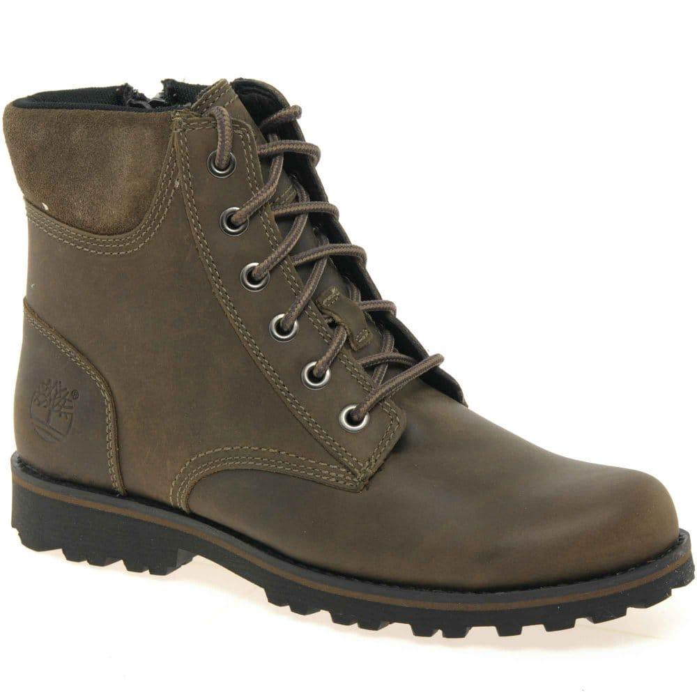 timberland asphalt junior boys lace up boots charles clinkard