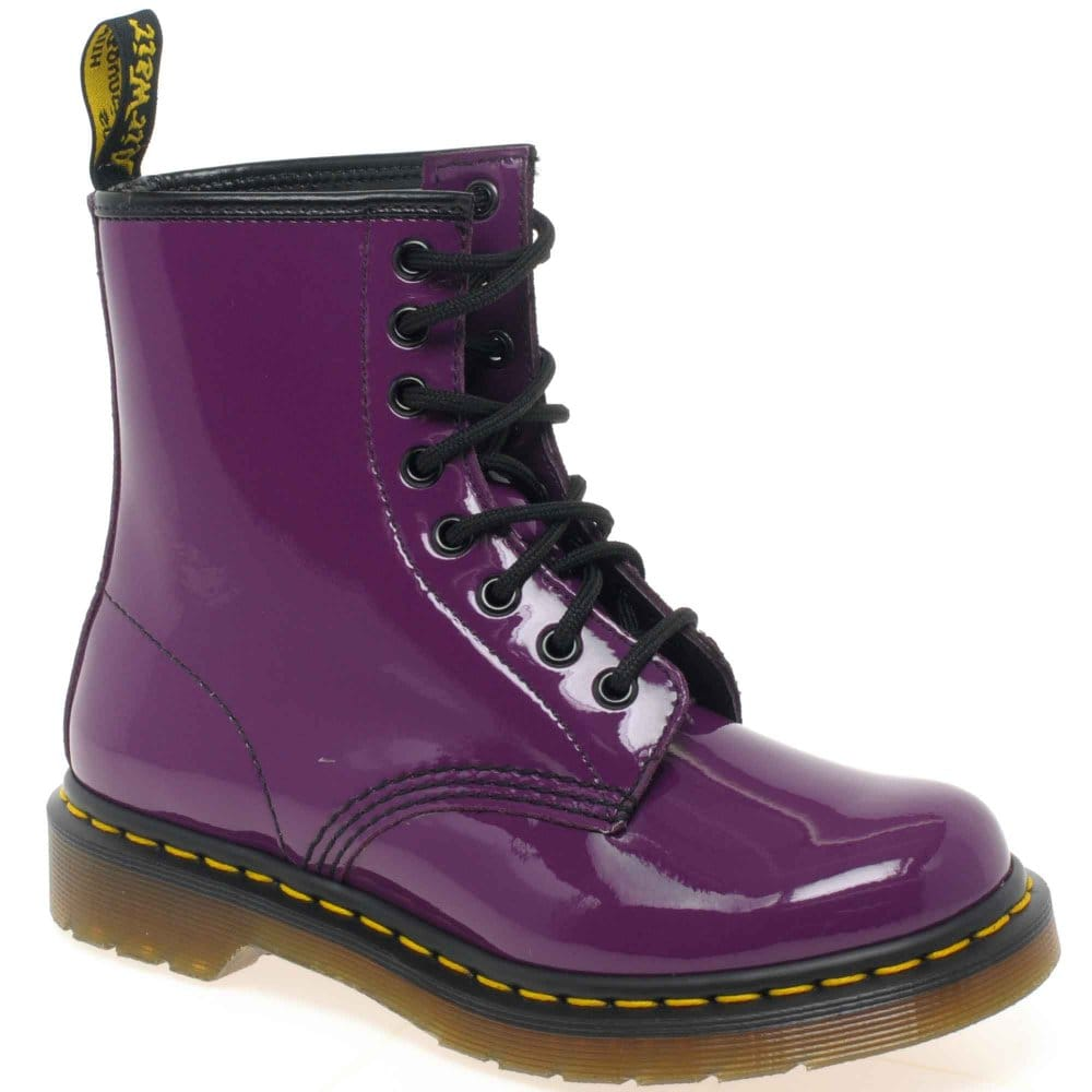 Popular Dr Martens Womens Dharma Plain Toe Boot Boots In Black Greenland