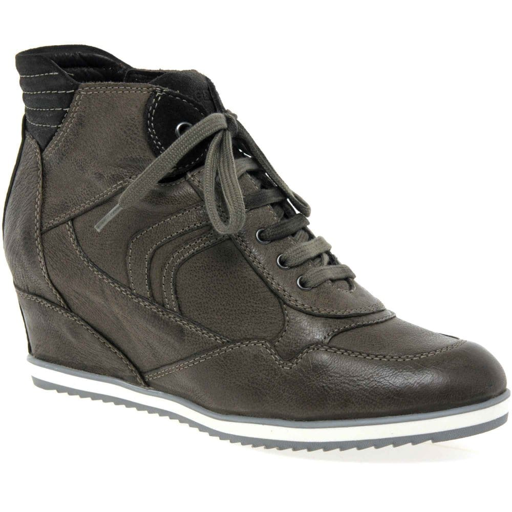 geox illusion womens concealed wedge boots geox from