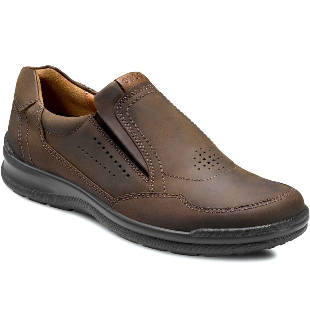 ecco mens slip on casual shoes charles clinkard
