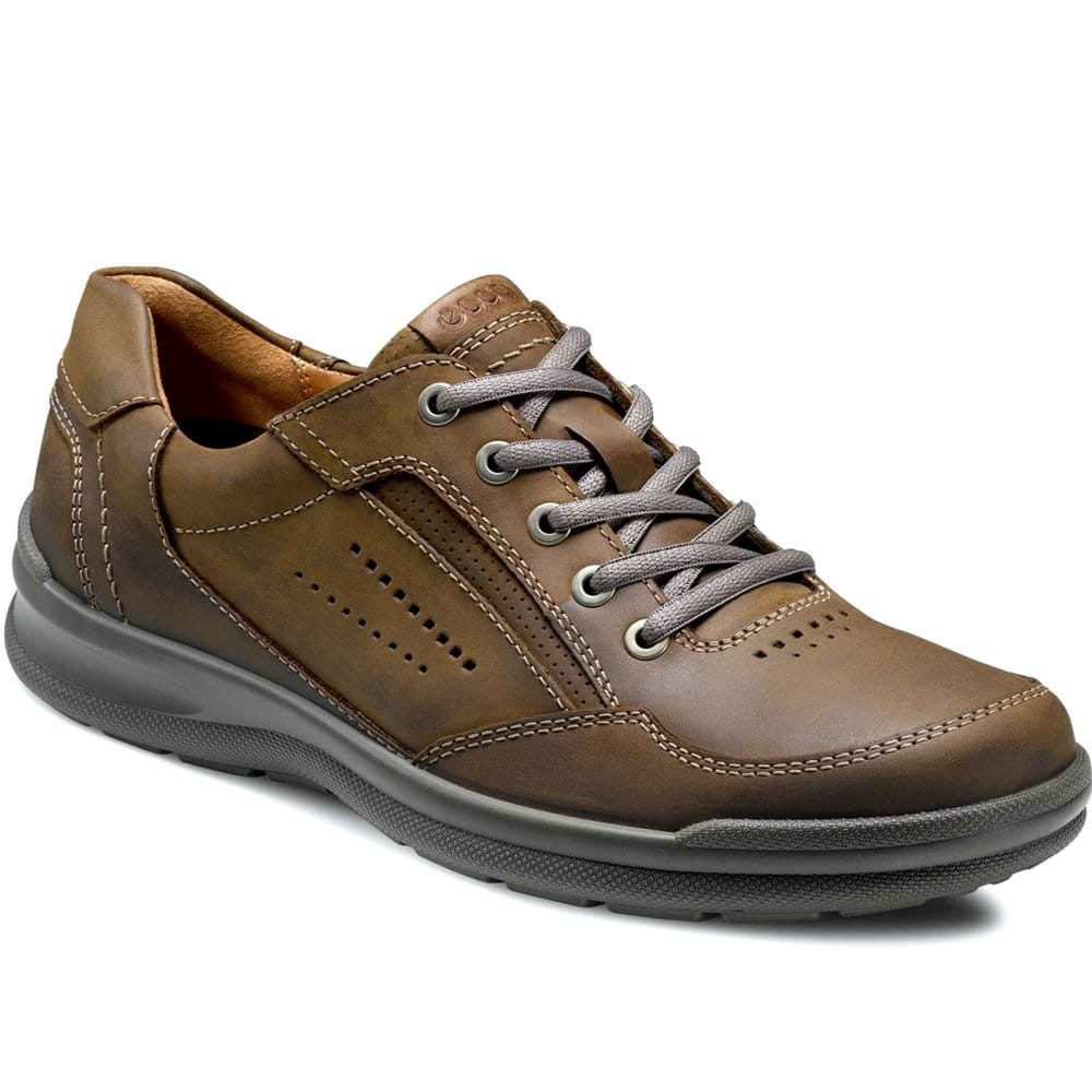 ecco outback mens lace up casual shoes charles clinkard