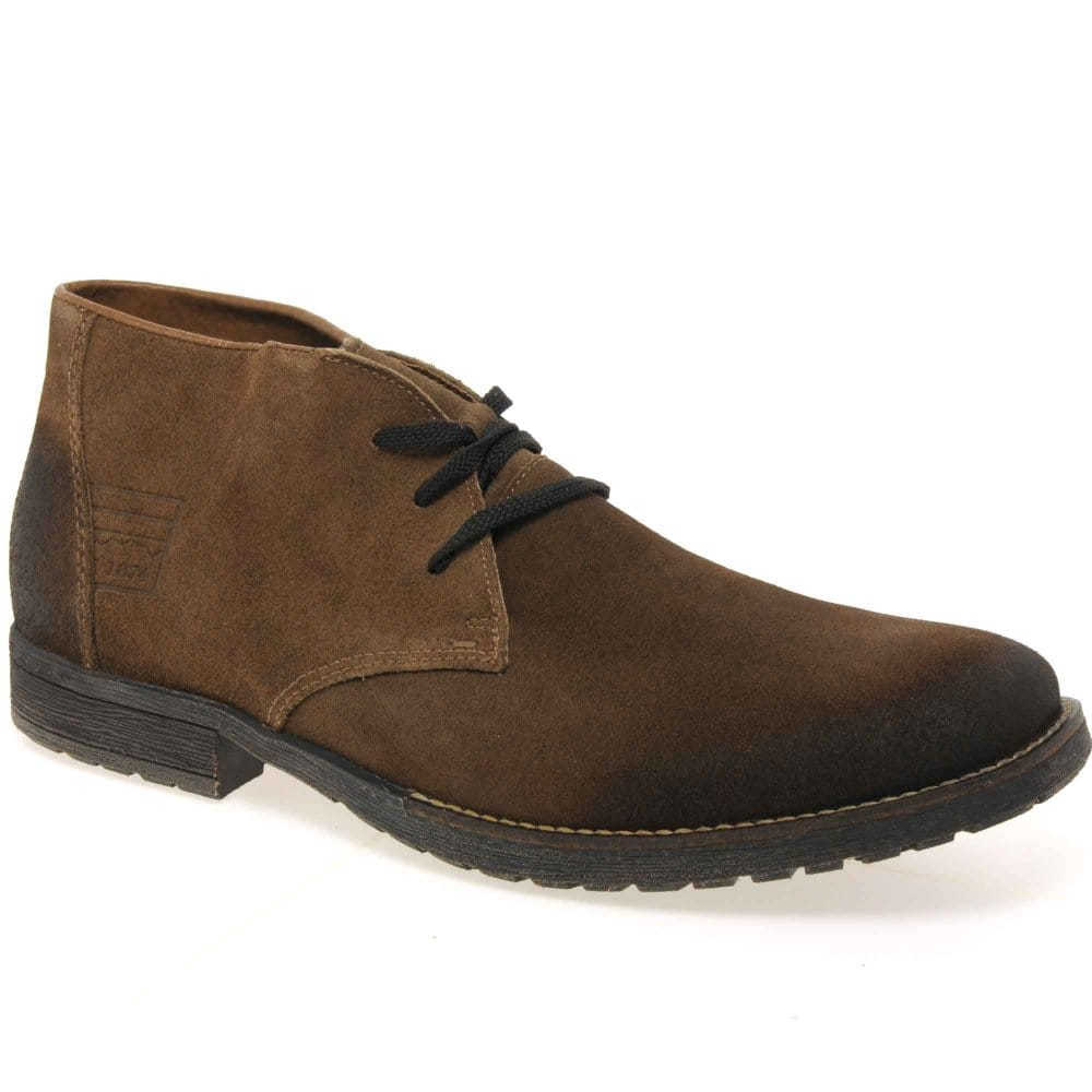 rieker jerry mens suede lace up boots rieker from