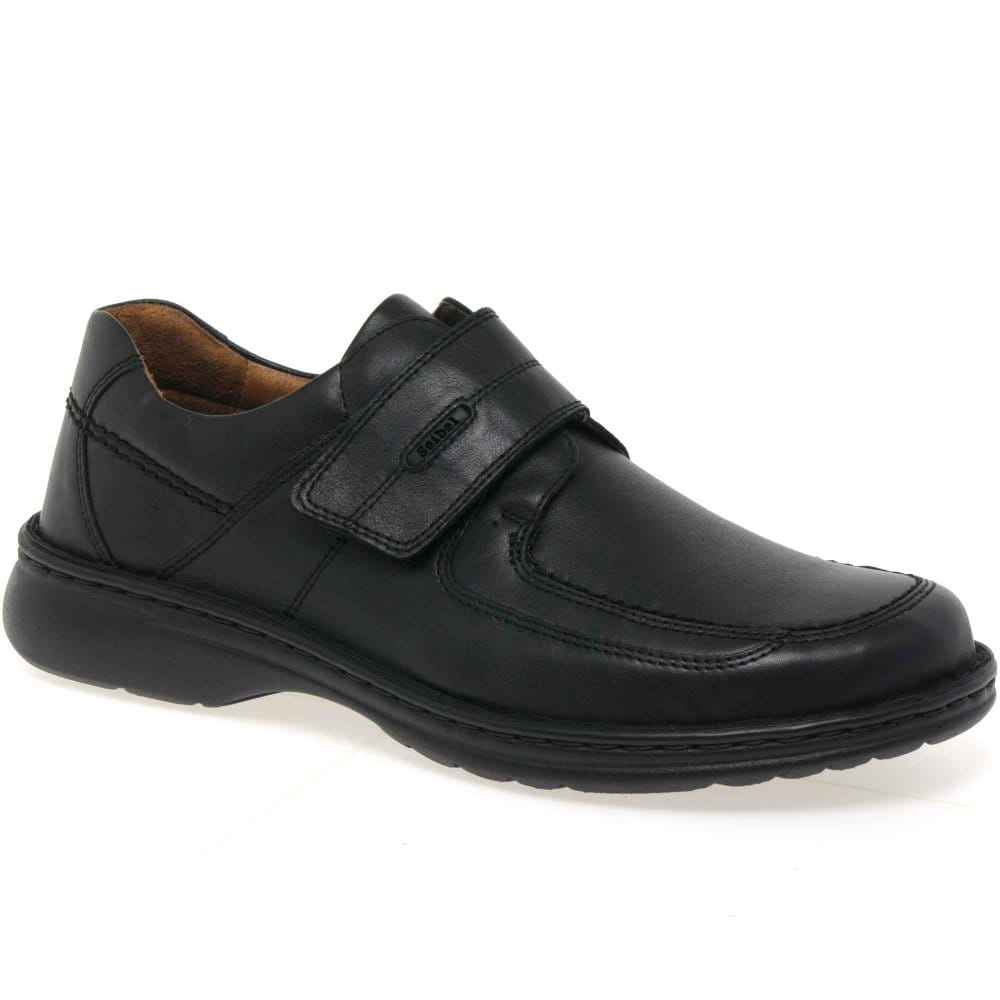 josef seibel eamon mens velcro fastening casual shoes