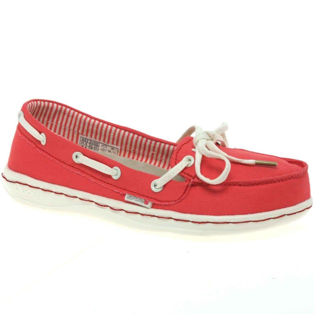 Home : Women : Shoes : Dude : Dude Moka Slip On Canvas Ladies