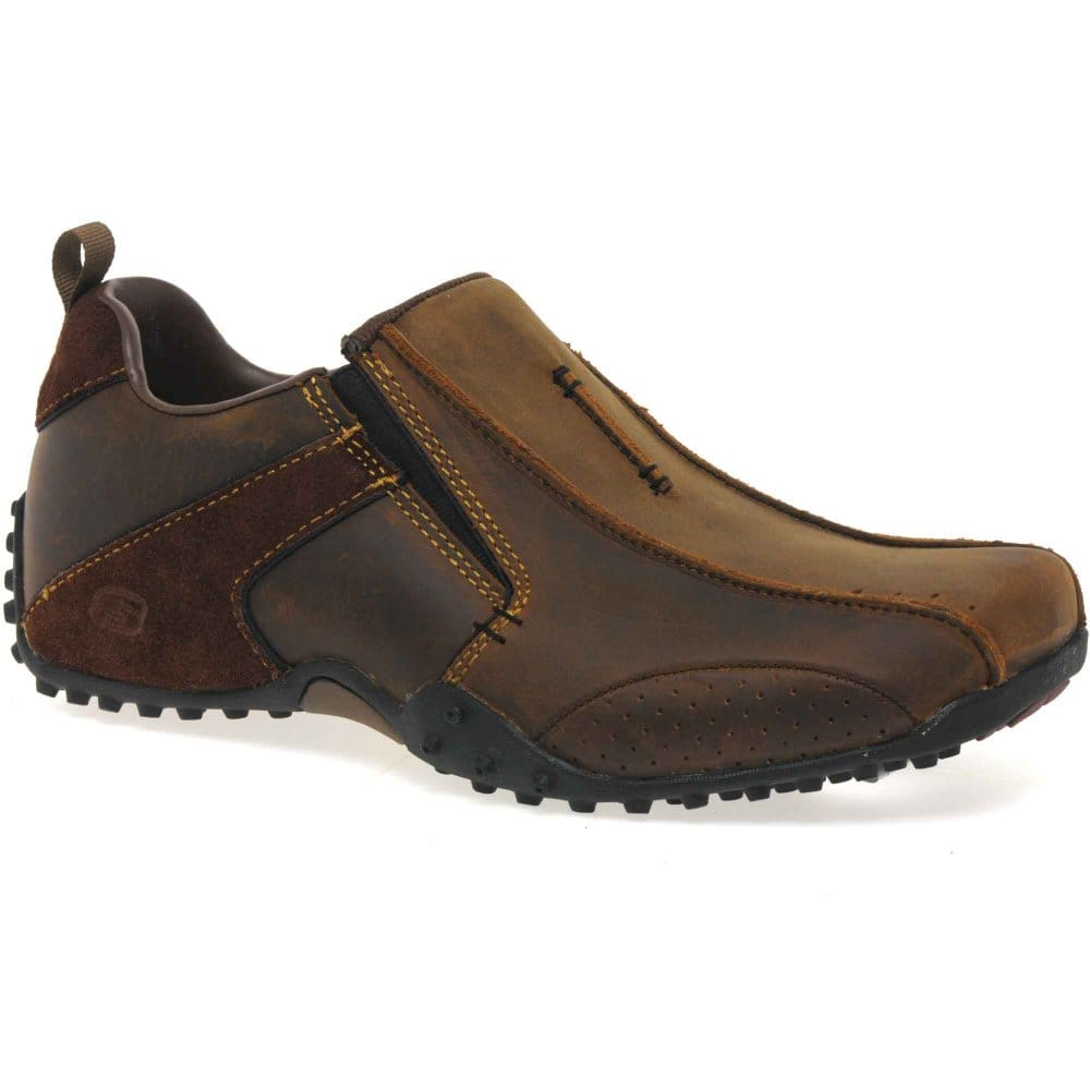 skechers solver mens slip on casual shoes skechers from