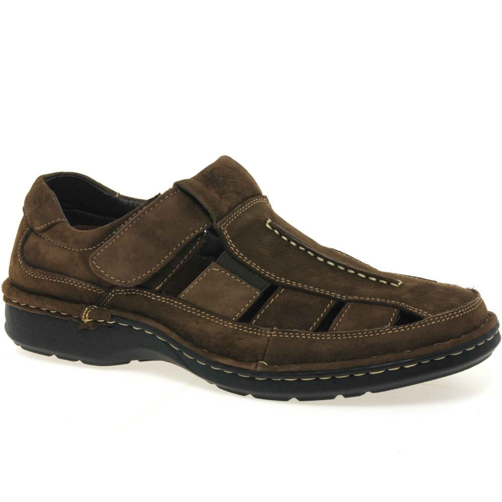padders padders mens velcro fastening casual shoes