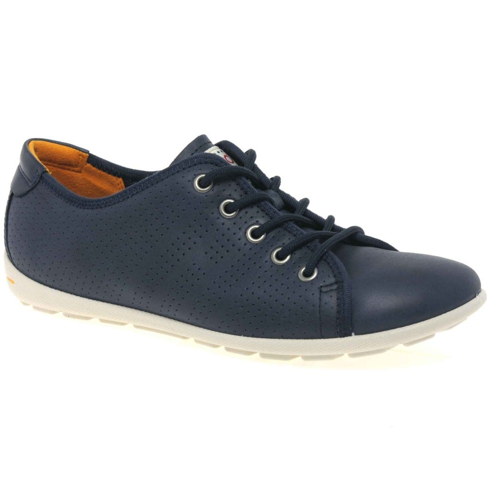 ecco fortune womens lace up casual shoes charles clinkard