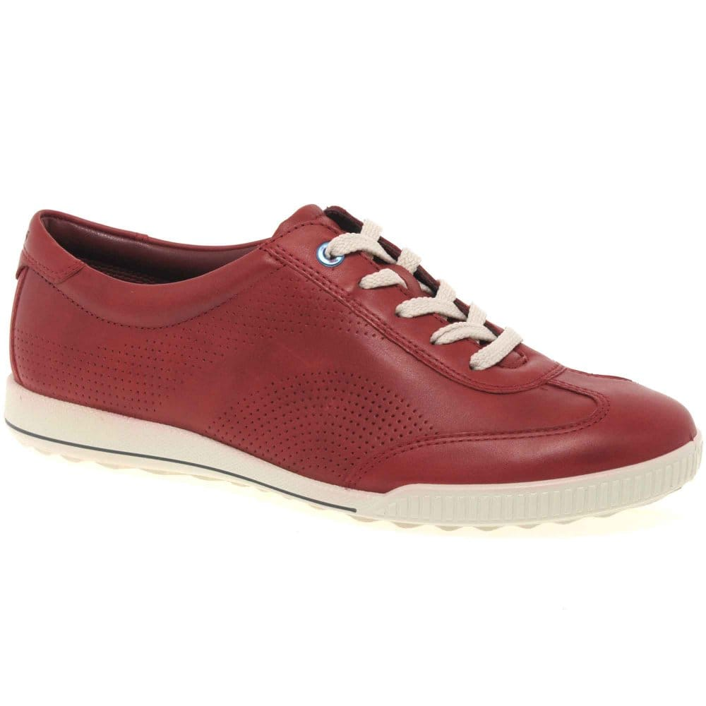 ecco fresh womens lace up casual shoes charles clinkard