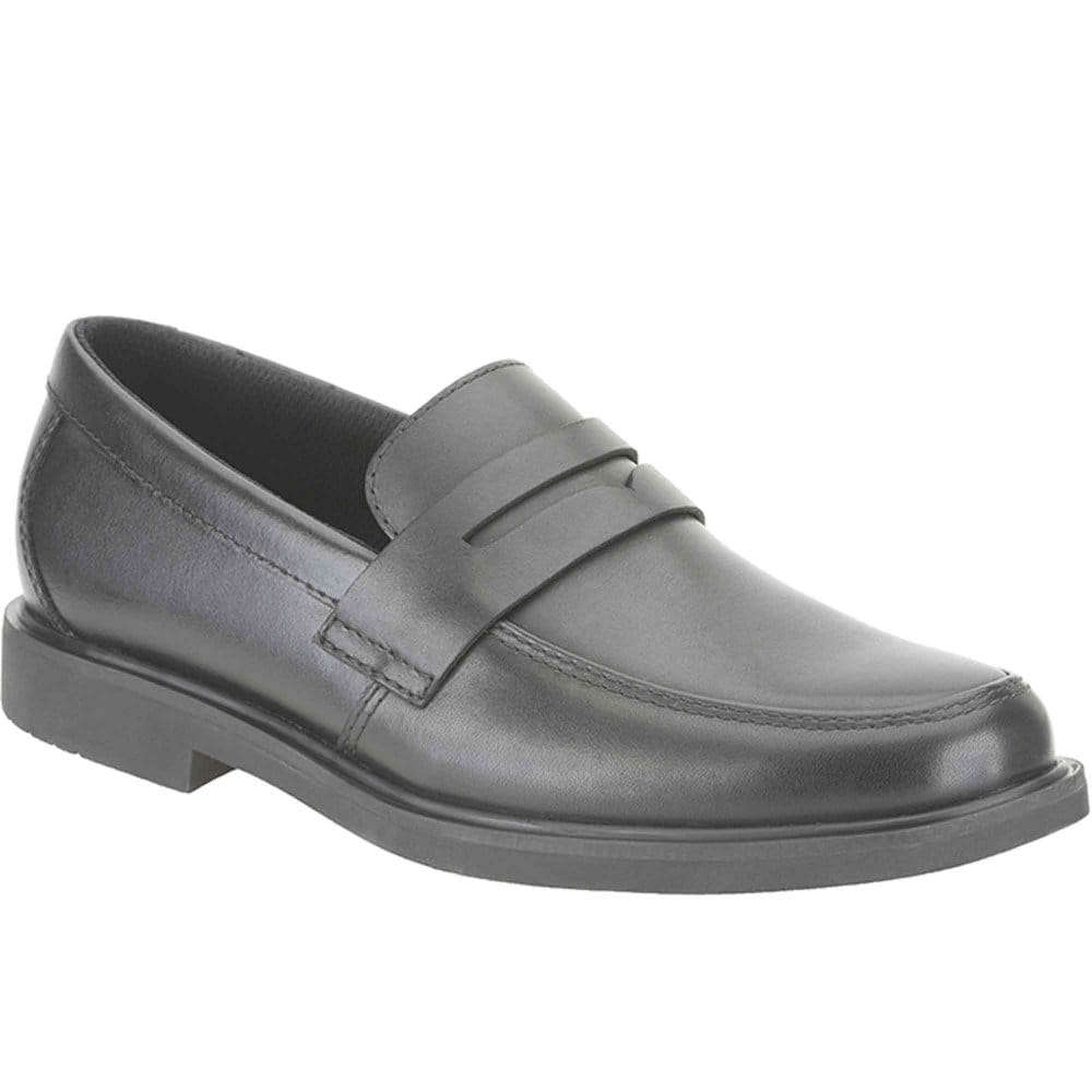 clarks zayne boys slip on school shoes clarks from
