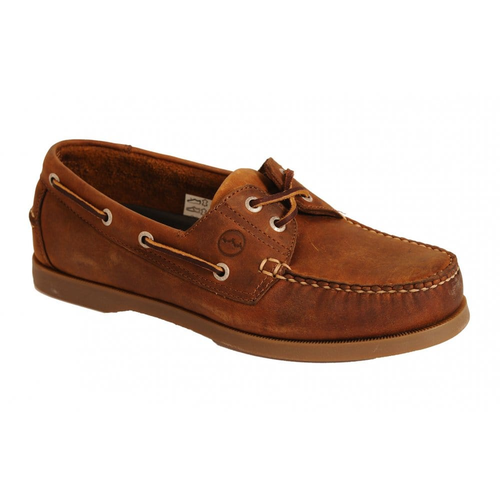 orca bay creek casual leather boat shoes charles clinkard
