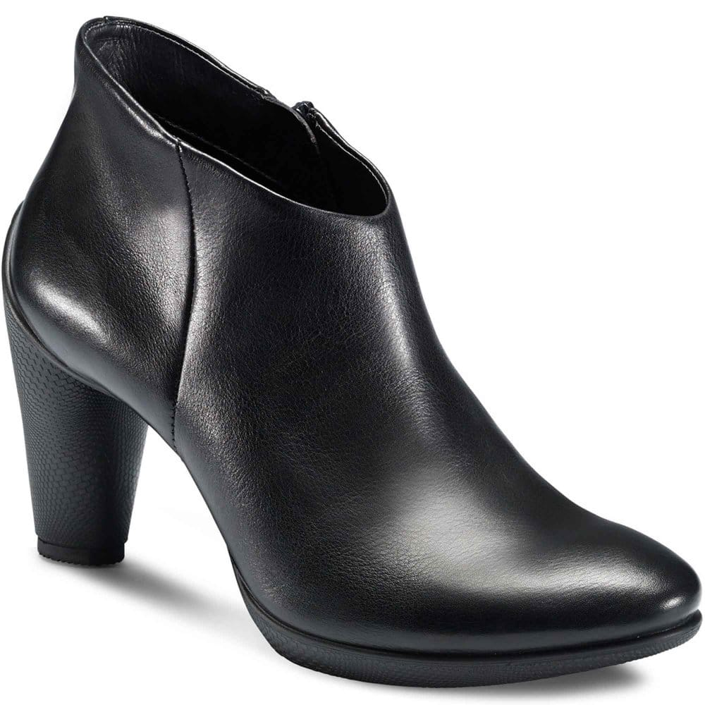 ecco sculptured ankle boots low cut charles