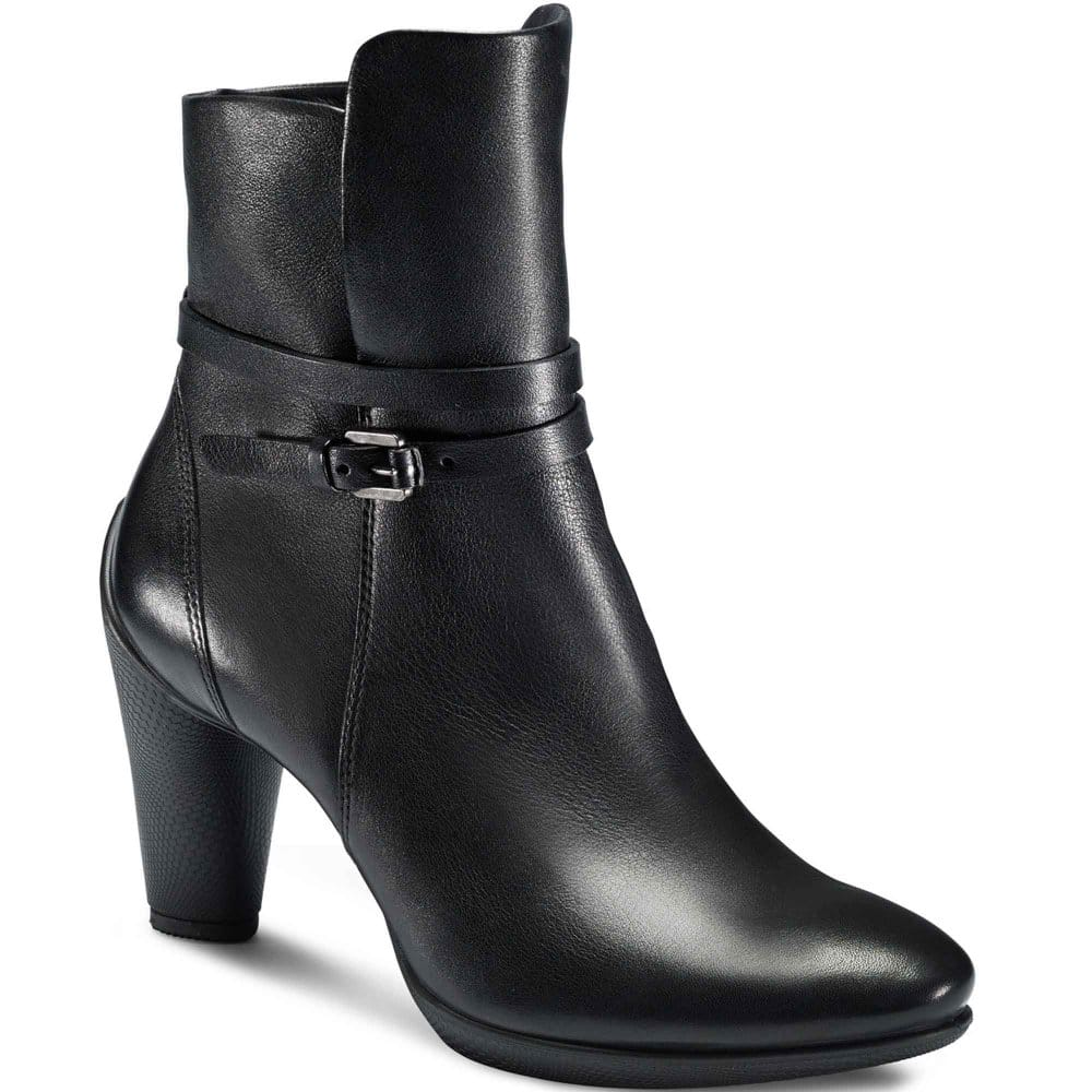 ecco sculptured 75 ankle boots womens leather charles