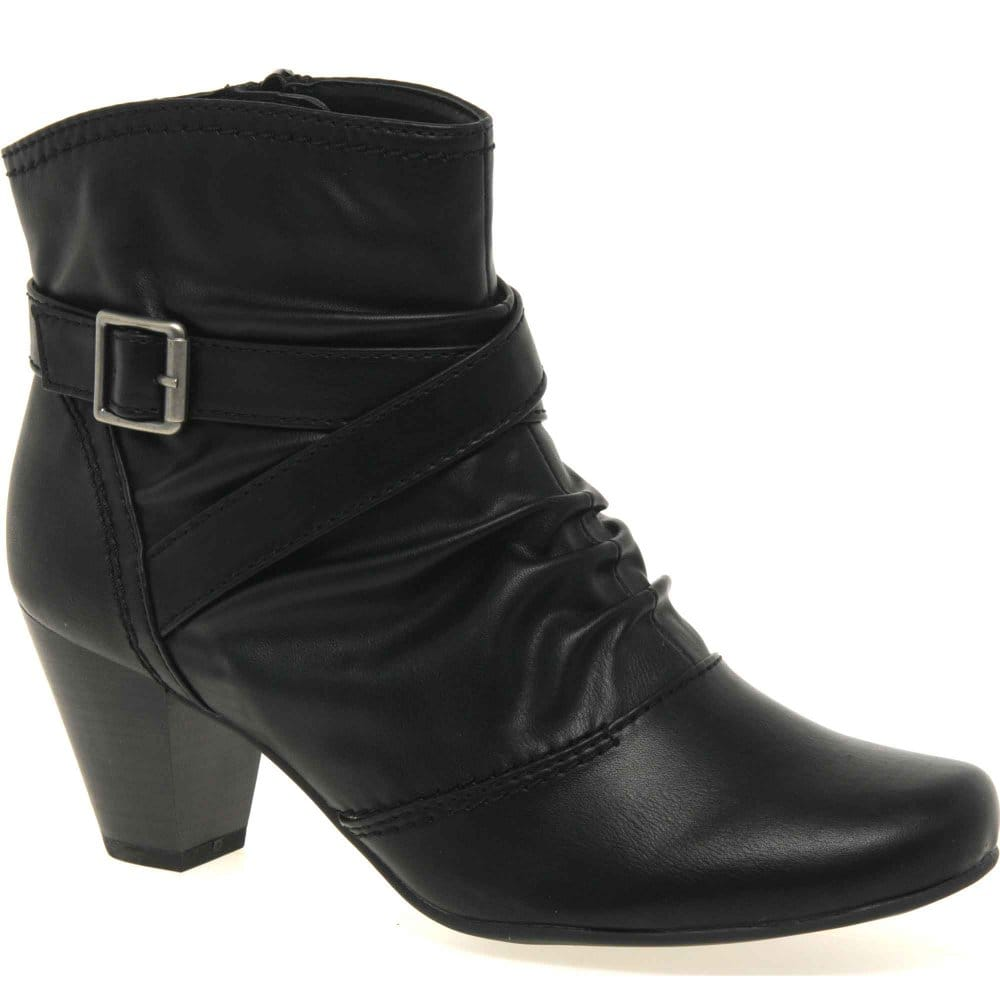 soft line emerson womens casual ankle boots soft line