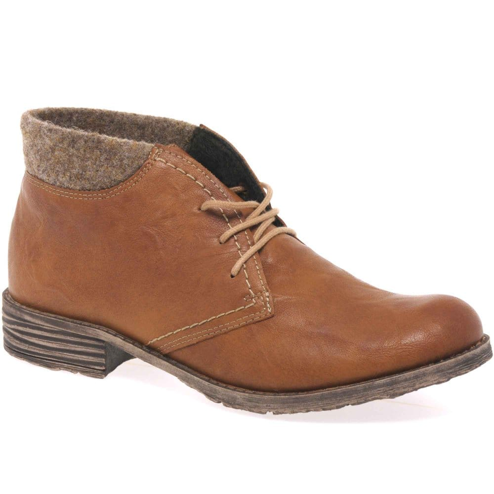 rieker dusky womens lace up ankle boots rieker from