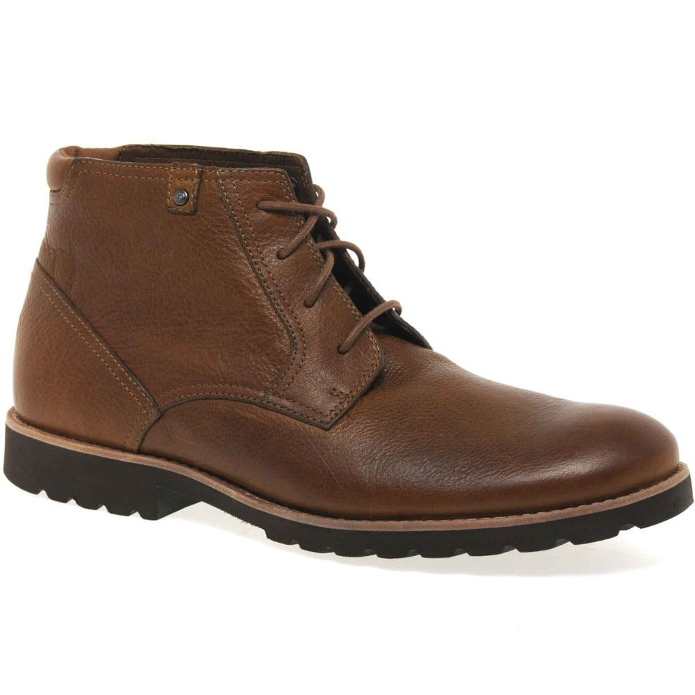 Rockport Ledge Hill Mens Lace Up Boots Rockport From Charles Clinkard Uk