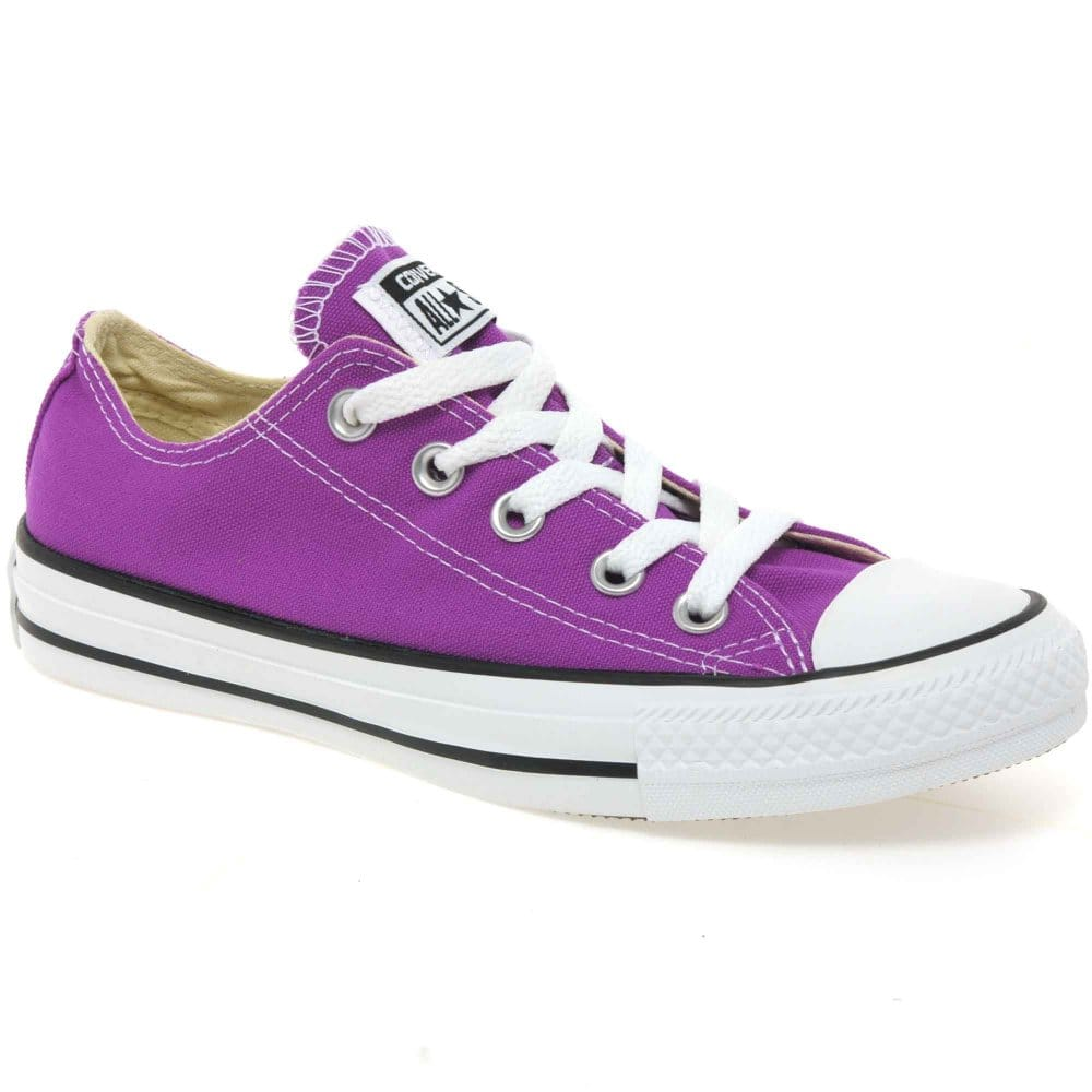 converse all star oxford girls canvas shoes charles clinkard